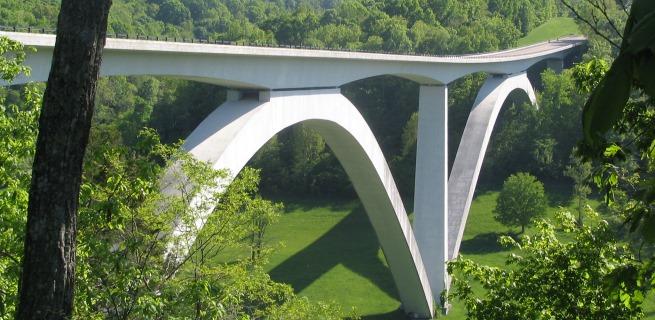 Natchez Chase Parkway Bridge, Car Hire Nashville Airport