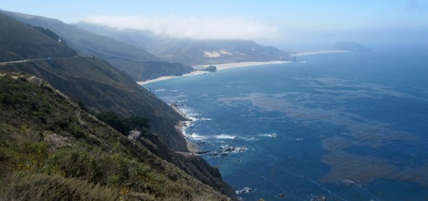 Pacific Coast Highway just beyond Big Sur