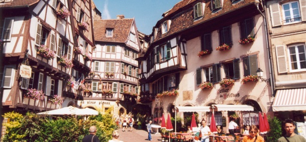 Colmar on Alsace Wine Route