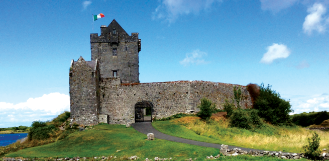 Dunguaire Castle, Galway, Car Rental Galway Ireland