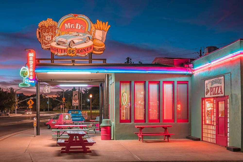 Mr D'z Route 66 Diner in Kingman, Arizona