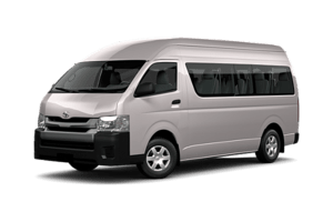 Isuzu MUX (12 seats) people mover car rental in Australia