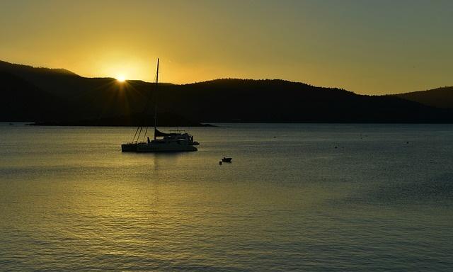 Airlie Beach Sunset, Queensland, Australia, Brisbane Motorhome Rental