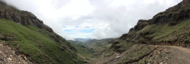 Sani Pass Looking Back