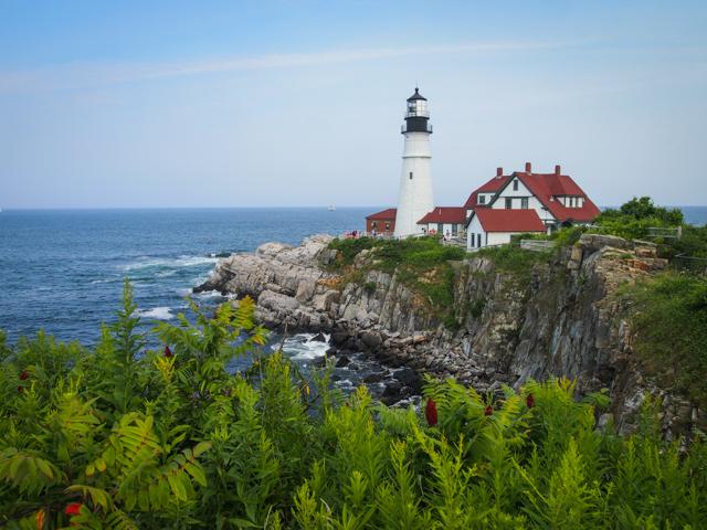 Portland Head Light - RV Road Trip in New England