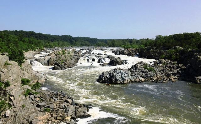 Baltimore Campervan Hire Day Excursions,great falls,potomac river