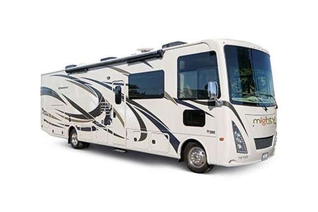 Mighty 32ft A Class RV Rental in USA