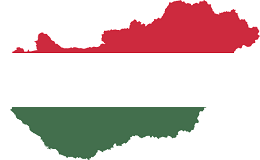 Hungary Flag and Country map