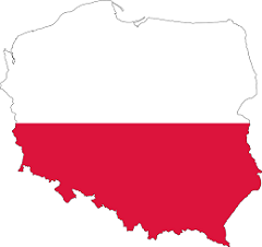 Poland Flag and Country map