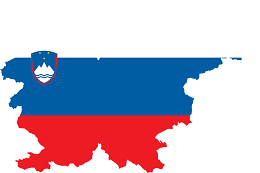 Slovenia Flag and Country Map