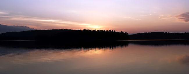 Sunset in Algonquin Provincial Park, Canada