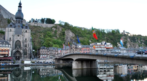 Dinant on the Mause River, Belgium Motorhome Rental