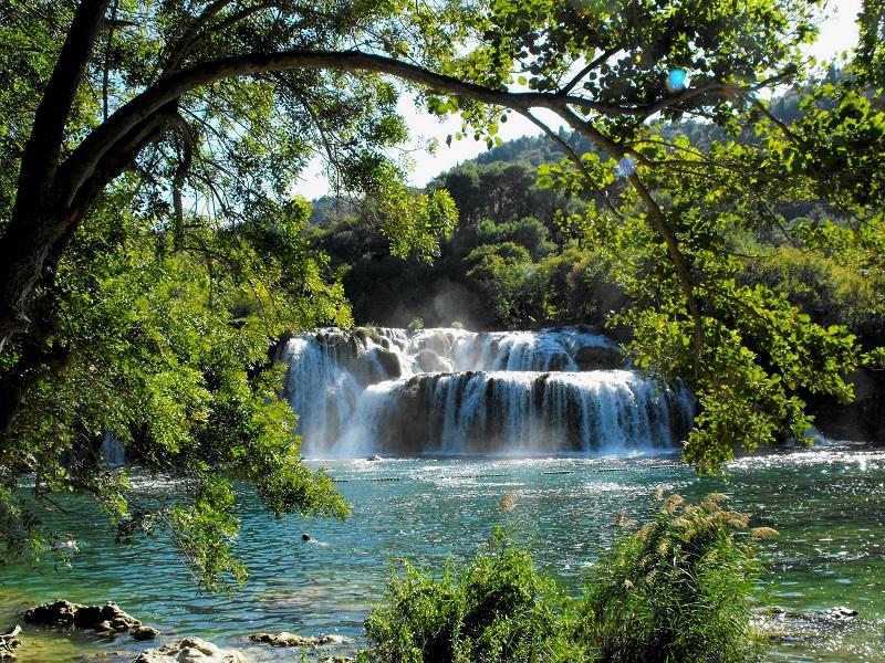 Zadar Motorhome Rental: Krka National Park Waterfalls, Croatia