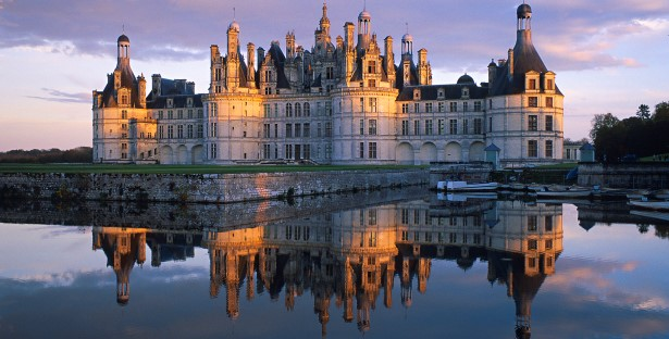 Chambord Castle in the Loire Valley, France, paris motorhome rental