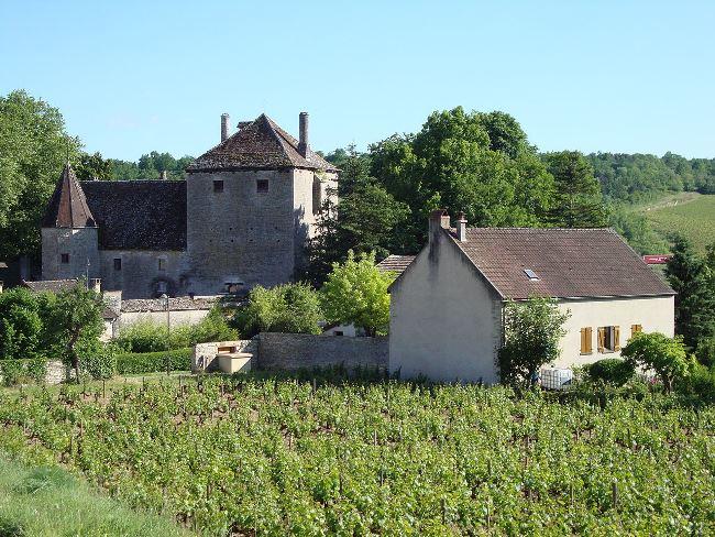 Chateau de Gamay, Saint Aubin, La Cote d' Or, Burgundy