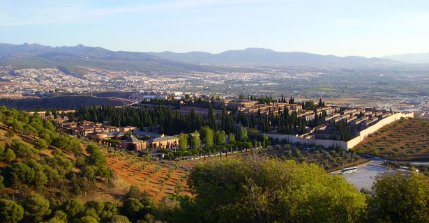 View of Granada, Granada Motorhome Rental, Spain