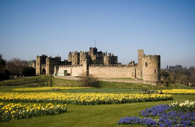 United Kingdom Scenic Drives, Alnwick Castle, Northumberland