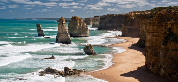 The Twelve Apostles, Great Ocean Drive; scenic drives in Australia