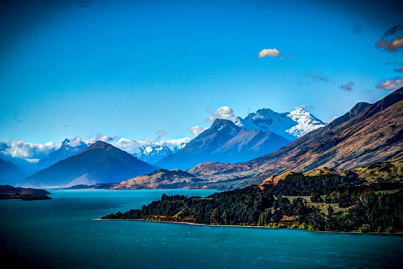 New Zealand Scenic Drives,Lake Wakatipu, Queenstown