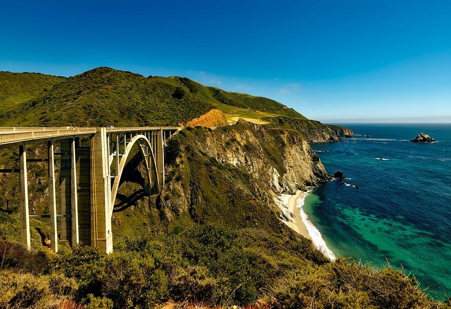 美国风景公路自驾游,美丽的美国公路之旅,西海岸,太平洋公路