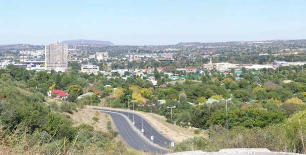 Bloemfontein skyline viewed from Signal Hill