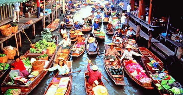 Temples and Floating Markets, Bangkok