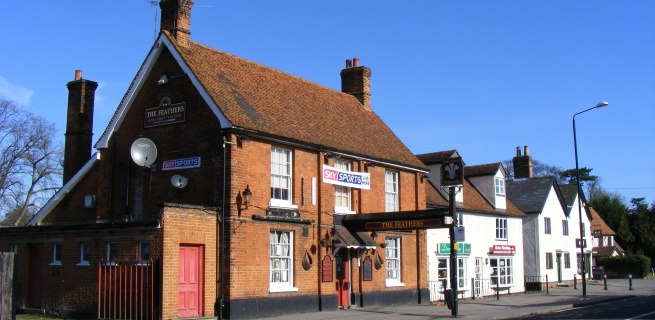 The Feathers Public House Stansted Mountfitchet